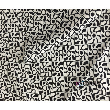 Fashion Woven Plain Custom 100% Rayon Fabric Printed