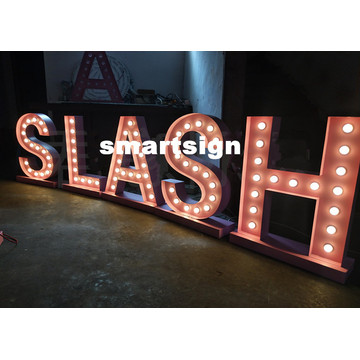 Outdoor Wedding Marquee Flooring LED Letter Signs