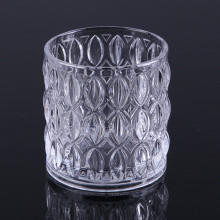 Glass Engraved Tealight Holder