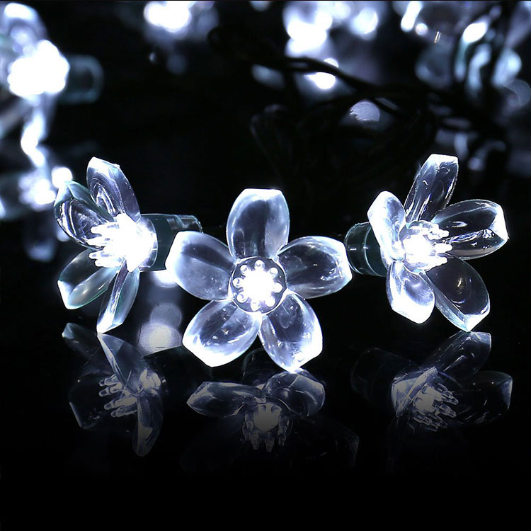 rose flower 10m led string light