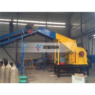 Tire Tyre Recycling Plant Crusher Equipment