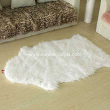 Faux Furs rug flooring home deco white color