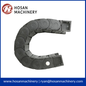 Big discounting for Cable Carrier Flexible black enclosed cable drag chain supply to Honduras Exporter