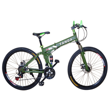 Fashion Design Folding Mountain Bicycle