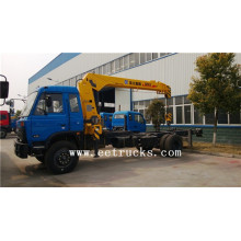 factory low price Used for Dongfeng 4×2 Truck Cranes Dongfeng 8 TON Hydraulic Truck Cranes export to Tuvalu Suppliers