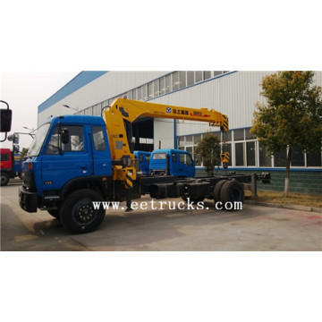 Dongfeng 8 TON Hydraulic Truck Cranes