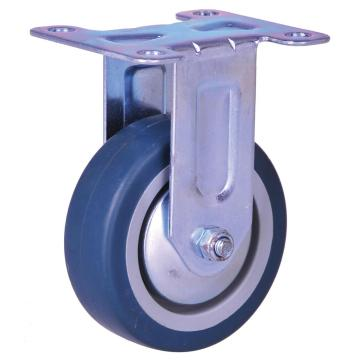 50mm light duty TPE wheel fixed caster