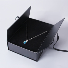 Door Open style Luxury Pendant Jewelry Black Box