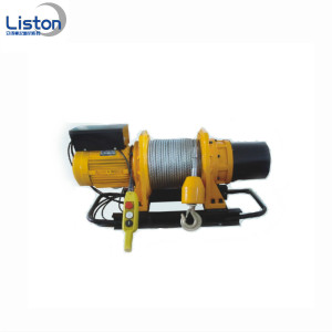 3 Phase Motors 600kg Small Electric Winch Hoist