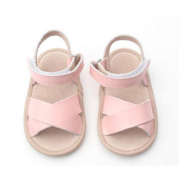 Baby Kids Pink Genuine Leather Shoes Sandals