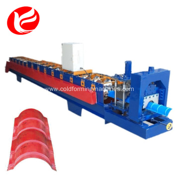 312 Metal Roof ridge cap roll forming machine