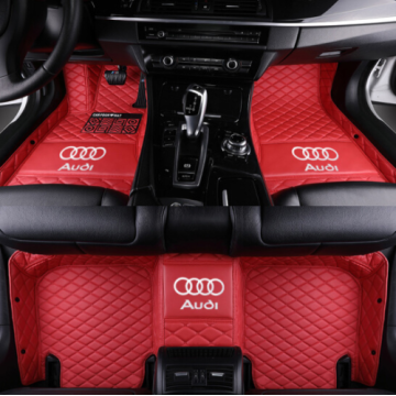 Leather Car Foot Mats Floor Mats for Audi All Models