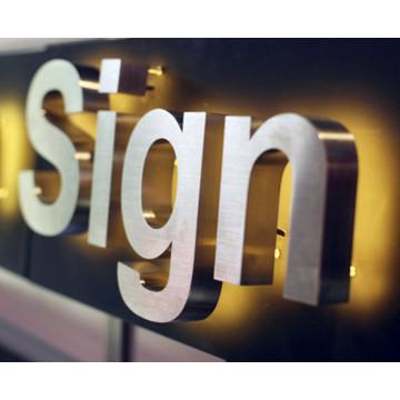 Light Business Letter Signs with Lights for Office Door