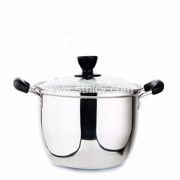 Korean Classic Stainless Steel Soup Pot Milk Pot
