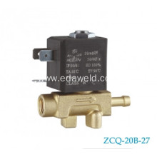Personlized Products for Europe Type Tube Connector Valve 2/2 Way Tube Brass Solenoid Valve export to St. Helena Manufacturer