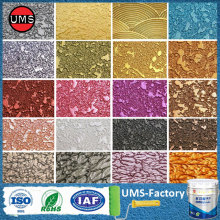 Gold silver metallic wall paint colour chart