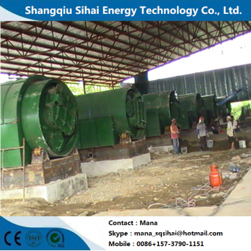 Recycling machine for waste rubber