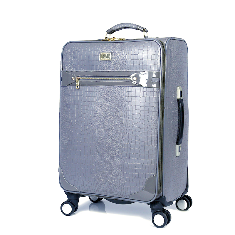 new arrival PU luggage