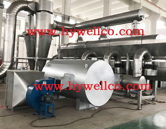 Potassium Nitrate Fluidizing Dryer
