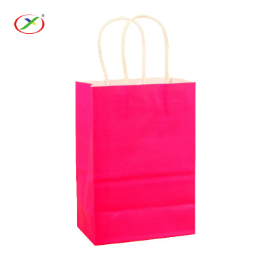 accept oem design brown craft paper bag