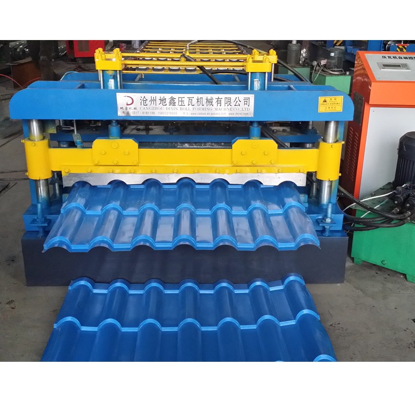 1100 Glazed Tile Machine