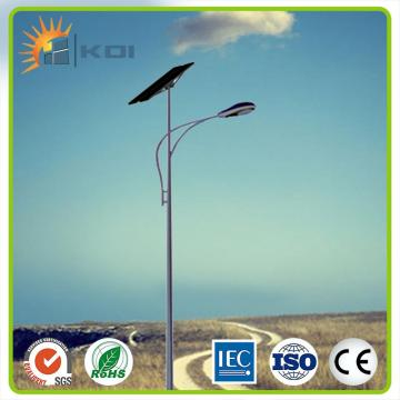 Solar LED system street light with lithium battery