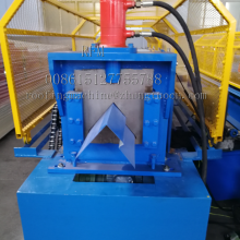 Steel Roof Ridge Cap Forming Machine