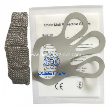 Meat Processing Stainless Steel Mesh Gloves