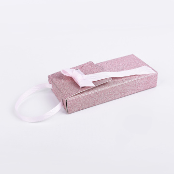 Multi-functional Two Piece Pink Bow Paper Gift Box