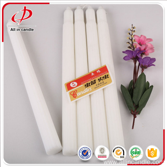 Tall Taper Fluted Candle