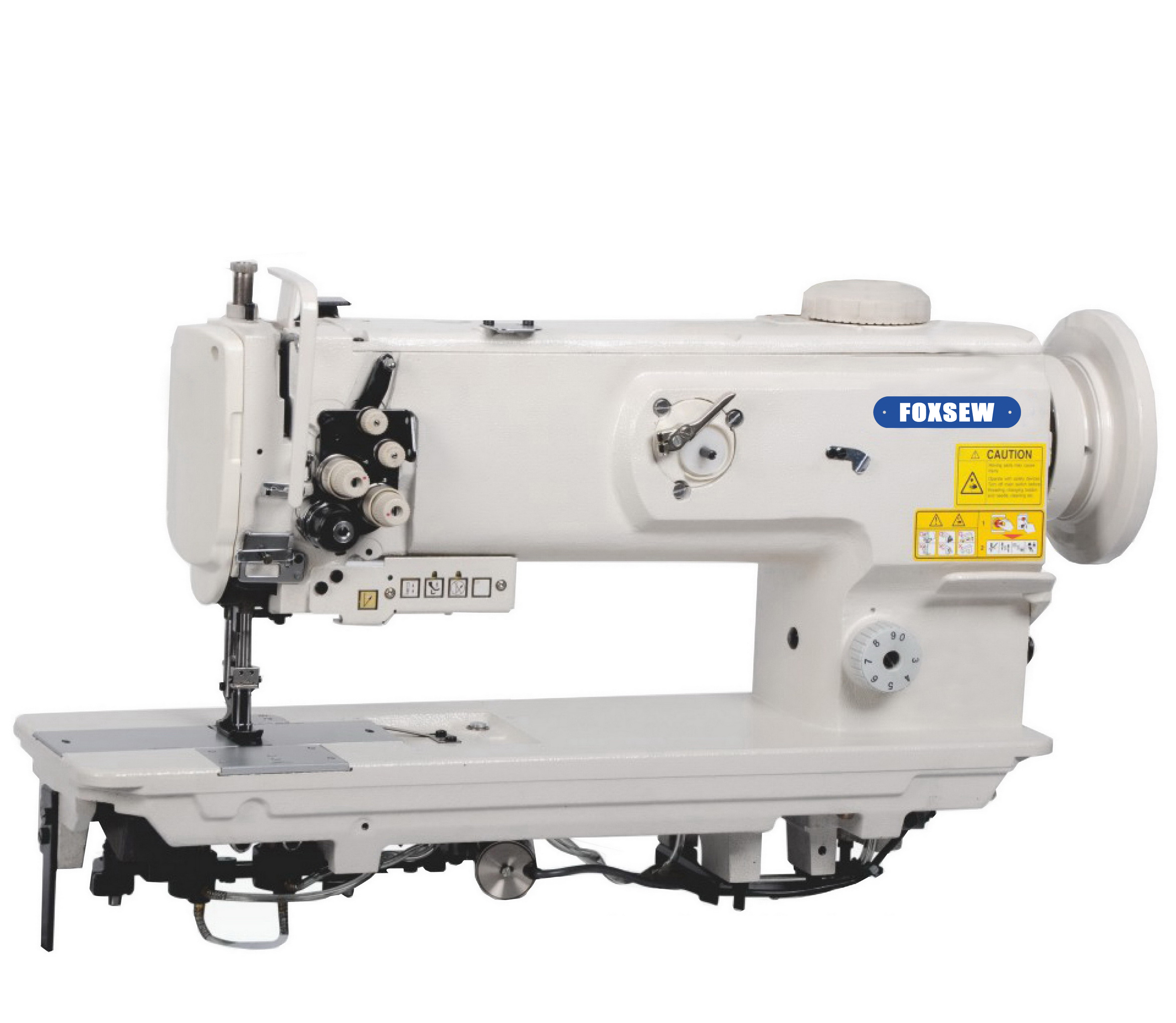 KD-1560N-L14 Double Needle Compound Feed Heavy Duty Lockstitch Machine