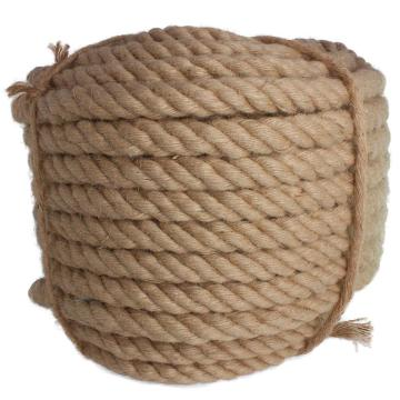 Good quality braided jute rope sisal rope for 3 strands