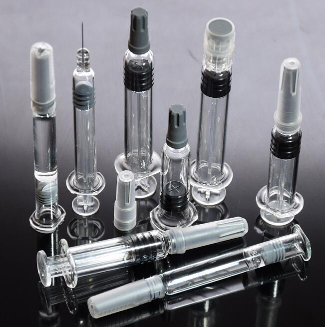 ALL size prefilled syringe