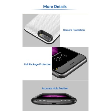 External full capacity iPhone 7 charging case
