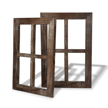 Rustic Wall Decor Decoration Outdoor Window Barnwood Frames