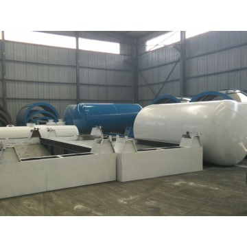 used tire to oil pyrolysis machine