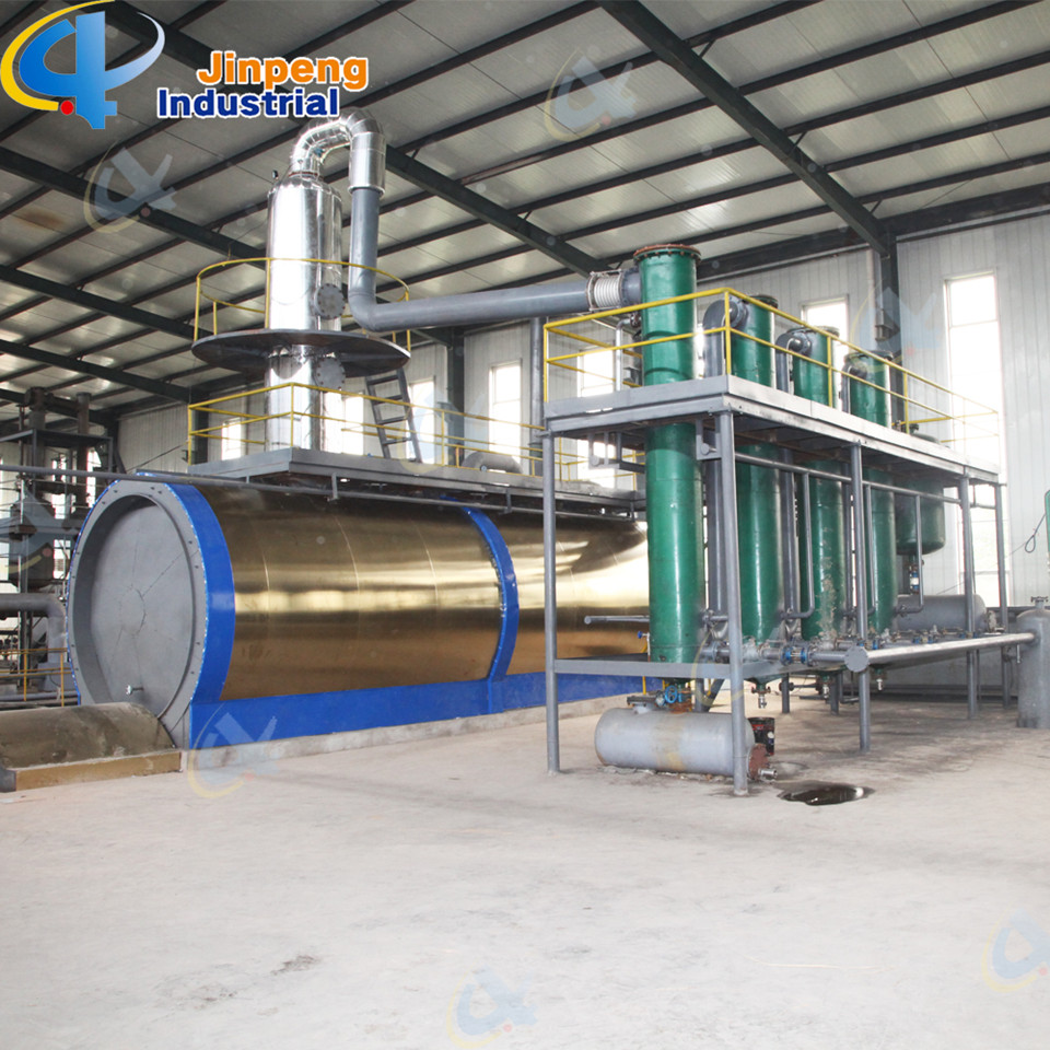 Plastic and Tyre Crude Oil Distillation Plant