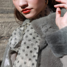 Lady Kopenhagen Winter Mink Fur Overcoat