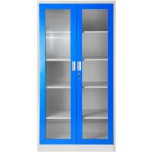 Blue Metal Office Cupboards