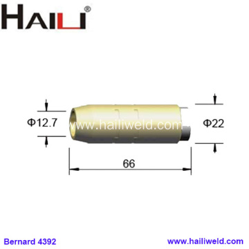 "4392 Brass Tapered Nozzle 1/2"" for Bernard"