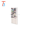White 24 Pairs stackable shoe rack Wholesale homemade shoe rack space saving shoe rack