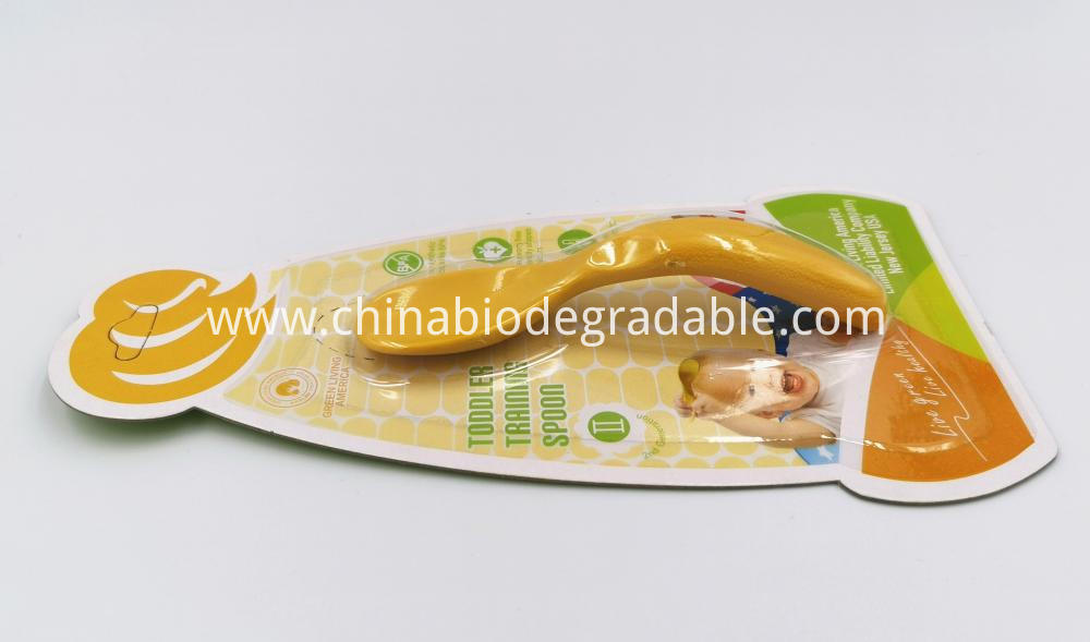 Plant-based Natural Children Training Spoon