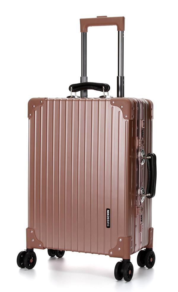 Anti-scratch hard shell luggage
