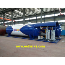 40000L 15ton Skid Mounted LPG Plants