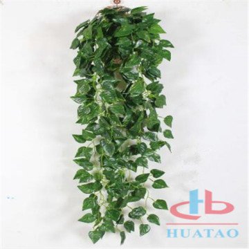 Green vertical plant artificial wall plastic garden wall