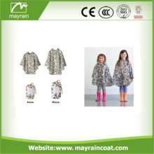 Supply Cartoon Funny Design Animal Kids Raincoats