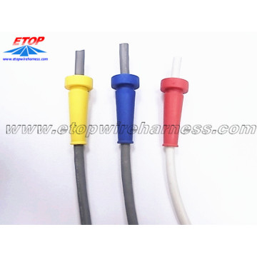 Strain relief molded for cables