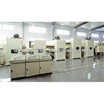 drafter machine for nonwoven
