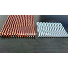 Heat Transfer Copper Staggered Fins