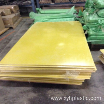 Yellow Epoxy Resin Plate / Board / Sheet